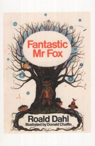 Roald Dahl Fantastic Mr Fox 1970 Book Postcard