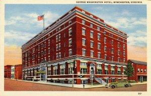 VA - Winchester.   George Washington Hotel