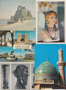 IRAQ 18 Cartes Postales Mostly 1960-2000