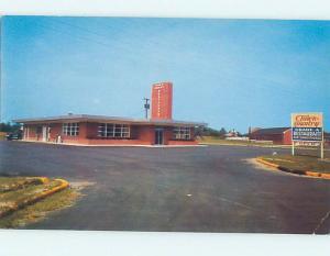 Pre-1980 TOWN AND COUNTRY RESTAURANT Williamston North Carolina NC j5928