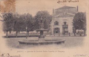 JOIGNY , France , PU-1904 : Quartier de Cavalerie Dubois-Tainville (Ier Dragons)
