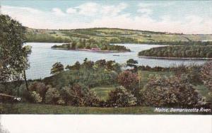 Maine Damariscotta River