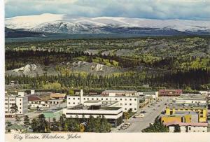 Scenic view, City Centre,  Whitehorse, Yukon,  Canada,  50-70s