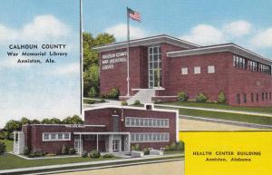 ANNISTON , Alabama , 30-40s; Library & Health Center Building