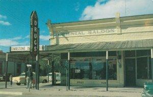 TOMBSTONE, Arizona, 1940-60s; Original Oriental Saloon, Calssic Cars, Drug Store