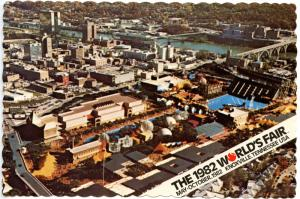 TN - Knoxville, 1982. The 1982 World's Fair, Aerial View