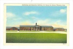 Auditorium & Rec Bldg, US Naval Air Station, Ottumwa, Iowa, pU-1950