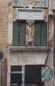 Italy Liguria Genova La Casa Di Cristoforo Colombo