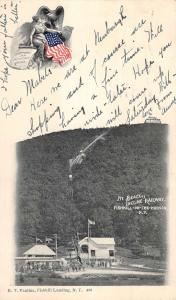 Fishkill On The Hudson New York Mt Beacon Incline Railway Postcard K62310