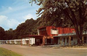 Parkerburg WV Green Acres Motel on Rt 50~Schaeffer & Seawell Postcard 1950s