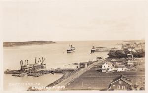 RP, Steamers, Pier, Chéticamp, Cape Breton, Nova Scotia, Canada, 30-40s