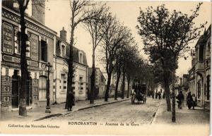 CPA ROMORANTIN - Avenue de la Gare (208902)