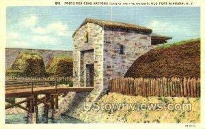 Porte Des Cinq Nations - Old Fort Niagara, New York
