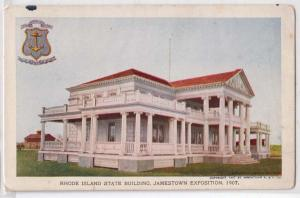 Jamestown Expo 1907, Rhode Island State Building