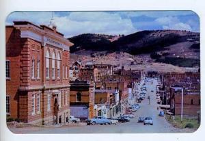 Cripple Creek CO Street View Old Cars Postcard