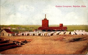 Oklahoma Sapulpa Cotton Compress 1908