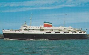 MV Bluenose, Ferry running between Yarmouth, NS and Bar Harbour, ME, 1957 PU