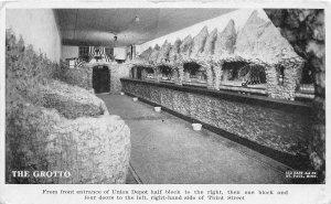 H11/ St Paul Minnesota Postcard c1910 The Grotto Interior Union Railroad Depot