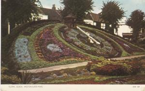 Post Card Somerset Weston-Super-Mare Floral Clock