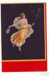 P344 JLs old postcard italian bacchante danesuse de pompei