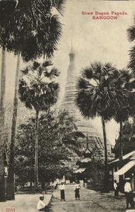 birma burma, RANGOON, Shwe Dagon Pagoda (1910s)