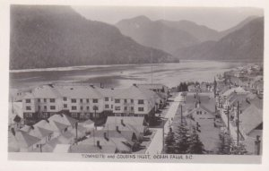 RP: OCEAN FALLS , B.C. , Canada , 30-40s; Townsite & Cousin's Inlet