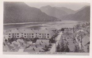 RP: OCEAN FALLS , B.C. , Canada , 30-40s; Townsite & Cousin's Inlet