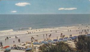 Morning on the Beach , Myrtle Beach , South Carolina , 40-60s