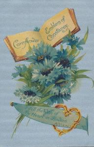 Cornflower Emblem of Constancy Wish of Thy Heart in Flowers - B. B. London - DB
