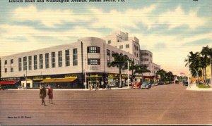 Florida Miami Beach Lincoln Road and Washington Avenue Woolworth