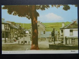 Wales GLYN CEIRIOG from THE CROSS c1960's Postcard