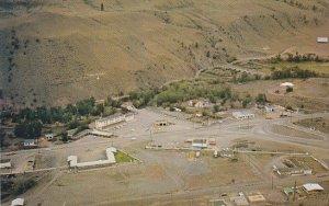Canada Aerial View Hotel Oasis Cache Creek British Columbia