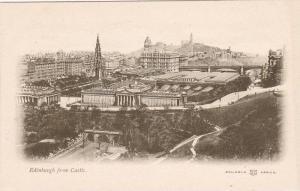Bird's Eye View, Edinburgh From Castle, Scotland, UK, 1900-1910s