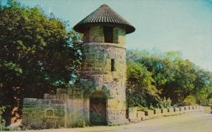 Connecticut Milford Memorial Tower and Bridge Crossing Wepawaug River