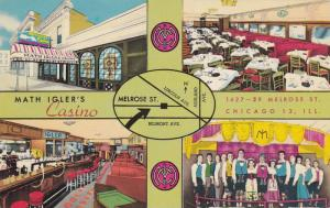4-views,  Math Igler's Casino,  Chicago,  Illinois,  40-60s