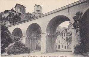 Monaco Pont et Chapelle Sainte Devote