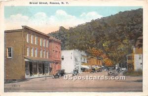 Broad Street Roscoe NY 1925