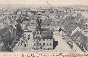 Germany Pirna vom Kirchturm aus gesehen 1912