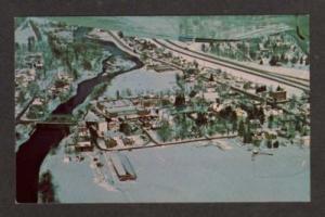 NY Aerial MARATHON NEW YORK Postcard Maple Festival