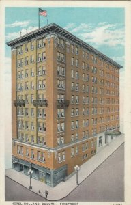 DULUTH, Minnesota, 1910s; Hotel Holland
