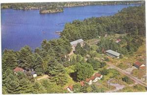 Pine Dale Inn on Gull Lake, Muskoka, Ontario, Canada, Chrome