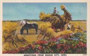 Iowa Greetings From Mason City