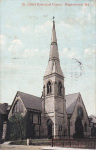 HAGERSTOWN, Maryland, PU-1907; St. John's Episcopal Church