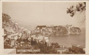 RP, JAFFA, Israel, 1920-1940s; Bird's Eye View, The Port