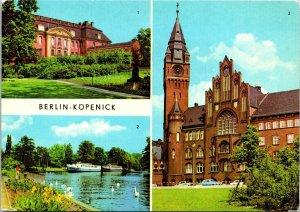 VINTAGE CONTINENTAL SIZE POSTCARD KOPENICK CASTLE IN EAST BERLIN EAST GERMANY