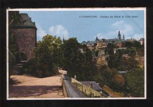 059567 Luxembourg Plateau du Rham et Ville haute Old