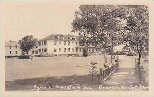 Maine Greenville Squaw Mountain Inn Real Photo RPPC