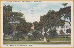 Biloxi, Miss., West Beach Boulevard, White House Hotel - 1927