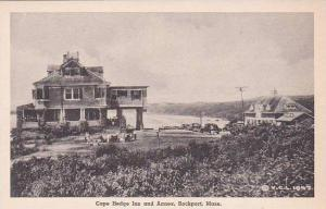 Massachusetts Rockport Cape Hedge Inn And Annex Albertype