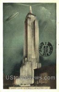 Empire State Bldg New York City NY 1937